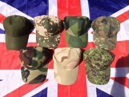 ## NEW ## ARMY MILITARY PEAK CAPS VARIOUS DESIGNS EXCELLENT QUALITY
